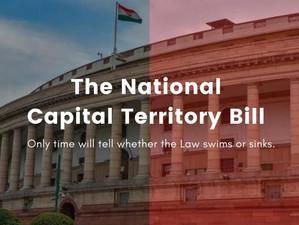 The National Capital Territory Bill