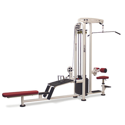 LAT PULLDOWN / LOW ROW (2-STACK)