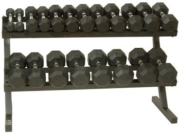 SD-R DUMBELL SETS WITH RACK
