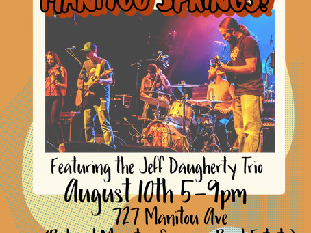 Woodshed Red Loves Manitou Springs! Featuring the Jeff Daugherty Trio