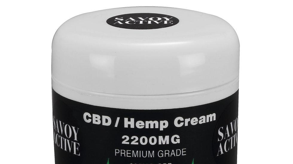 CBD / Hemp Seed Oil Cream  100% Natural - 200MG CBD - 2000MG Hemp - 2 FL.OZ