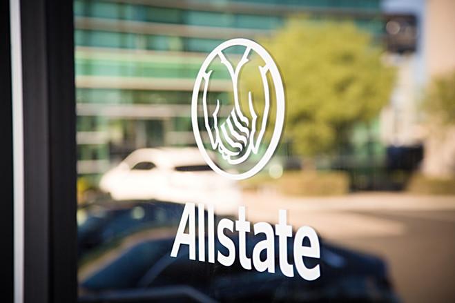 Allstate window graphics