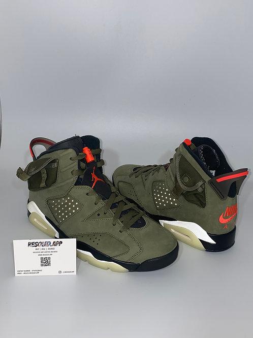 Nike Air Jordan 6 x Travis Scott 'Cactus Jack'