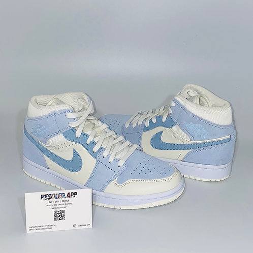 Nike Air Jordan 1 Mid 'Celestine Blue'