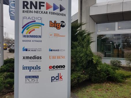 Interview bei Radio Regenbogen
