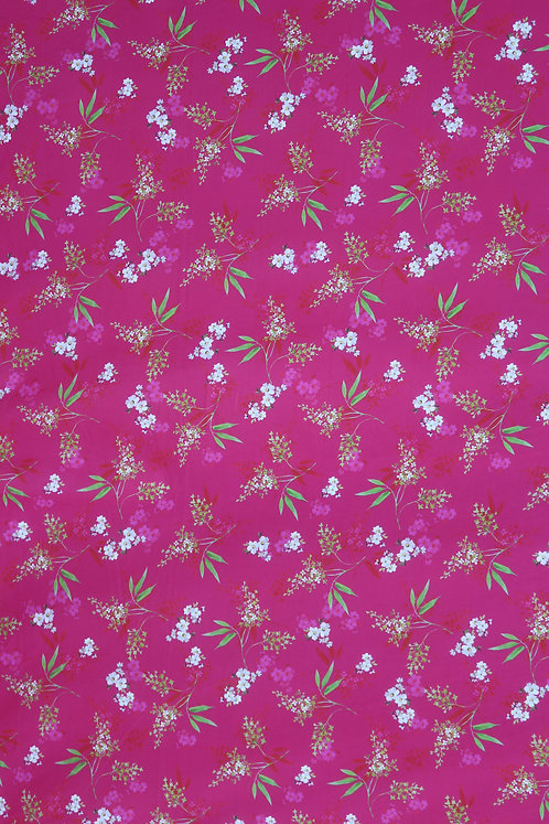 Cotton Italy - Dark Pink