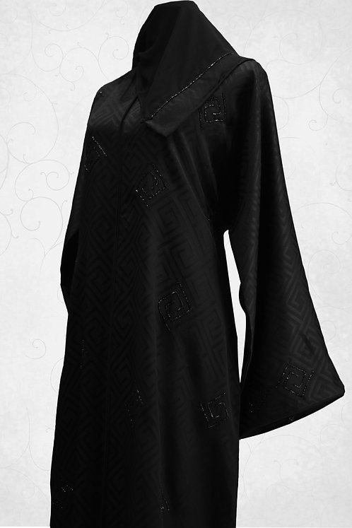 Abaya with Hand Embroidery