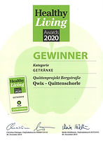 Quittenprojekt_Healthy_Living_Award_klei
