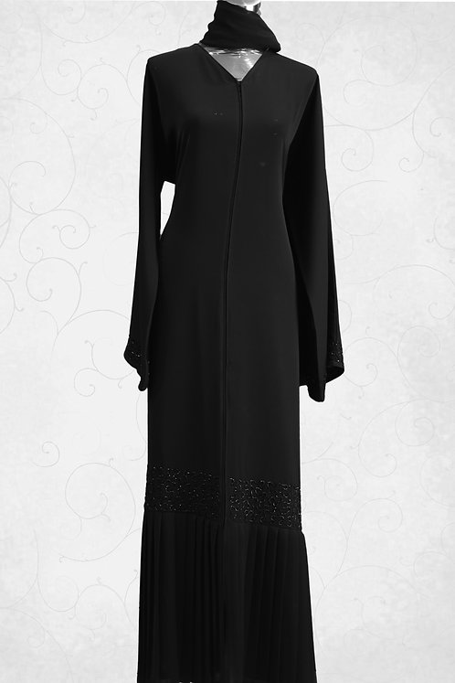 Abaya with Hand Embroidery