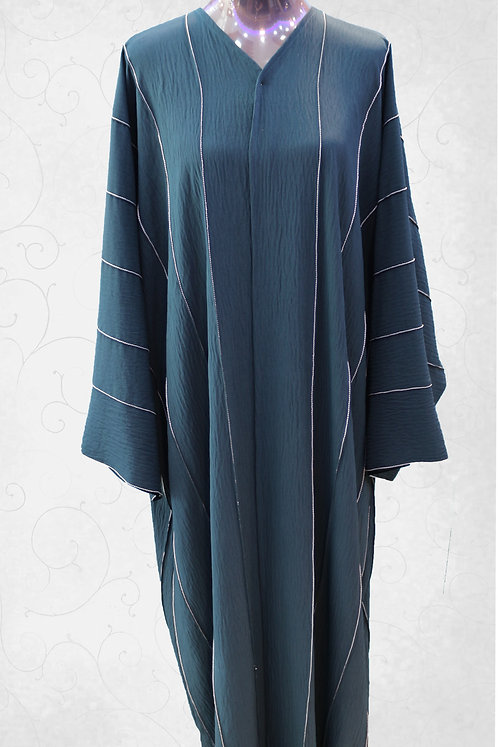 Abaya with Embroidery Work
