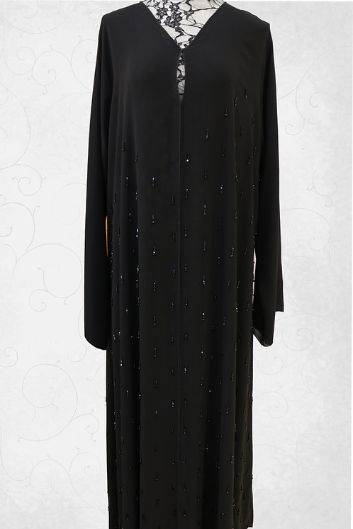 Abaya With Single Design