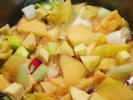 """Wir verfeinern gerade das Rezept für unseren Dip: """"Scharfe Quitte"""". Perfekt zu Käse, kalten Platten"""