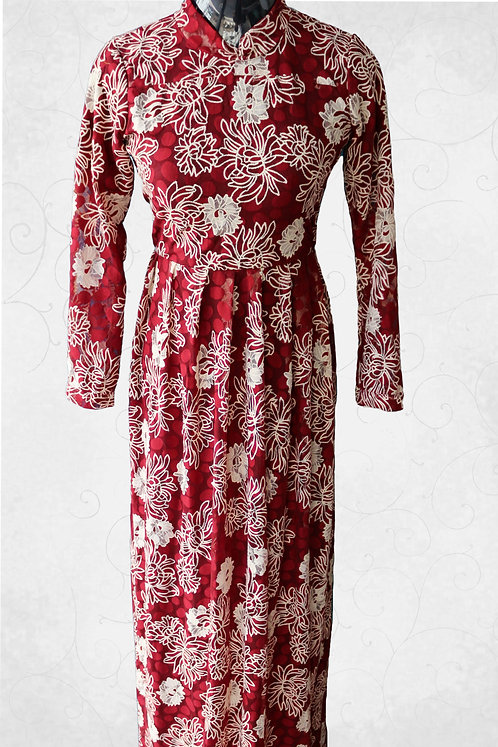 Dress with Embroidery Work