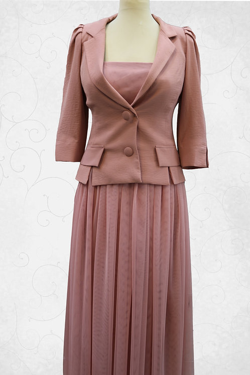 Dress With Over Coat