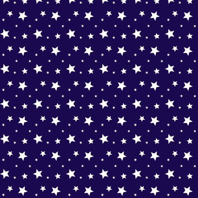 18850-2-Звездочки на синем