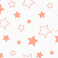 7957-1 звездочки коралл инверсия