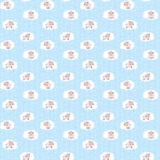 18784-2 Овечки на голубом