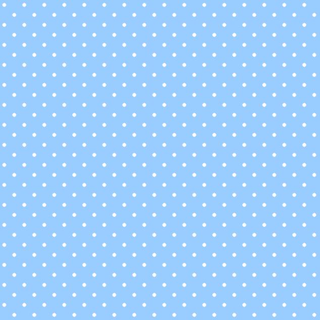 Горошек голубой-9728