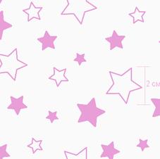 7957-1 звездочки розовые инверсия
