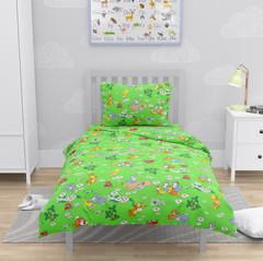 Веселые зайчата-зеленые 3030