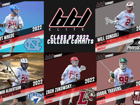 RECENT BBL BOYS COLLEGE COMMITMENTS