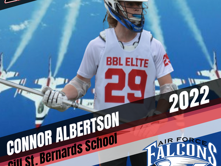 PLAYER SPOTLIGHT: CONNOR ALBERTSON (22') COMMITS TO AIR FORCE