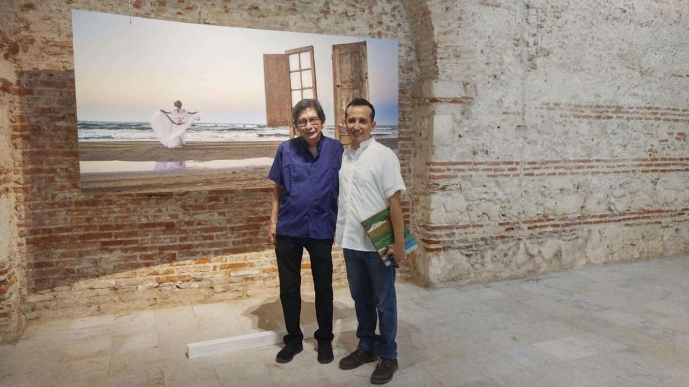 Junto al maestro Manuel Salinas