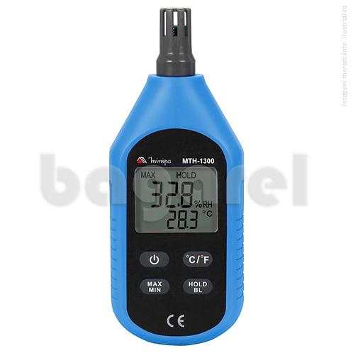 Termo-Higrômetro Digital Mini Ambiental MTH-1300