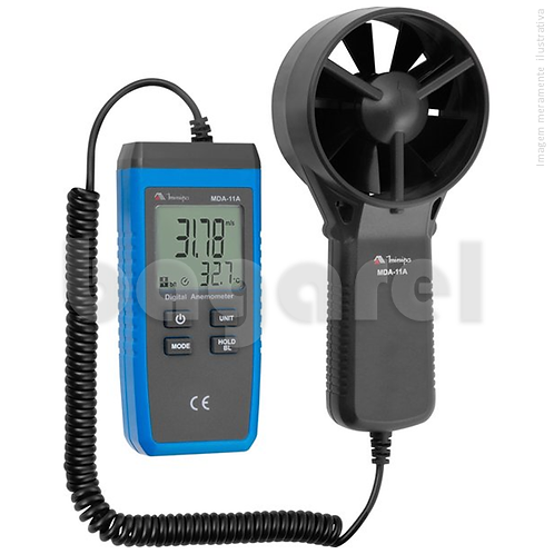 Anemômetro Digital MDA-11A