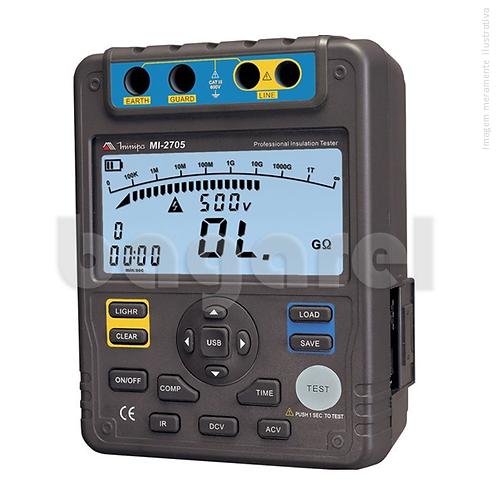 Megômetro Digital MI-2705