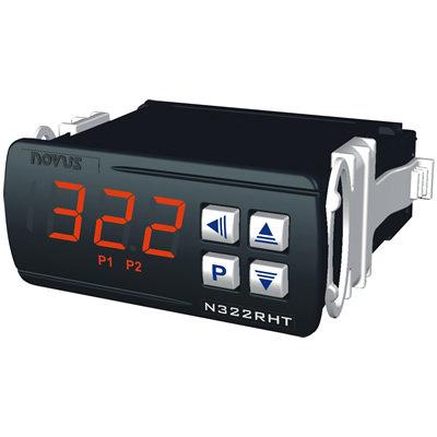 CONTROLADOR DE TEMPERATURA E UMIDADE DIGITAL N480D RRR USB 80480D2030 NOVUS