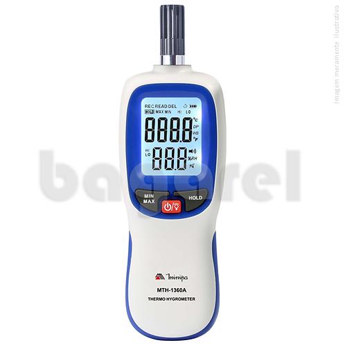 Termo-Higrômetro Digital MTH-1360A