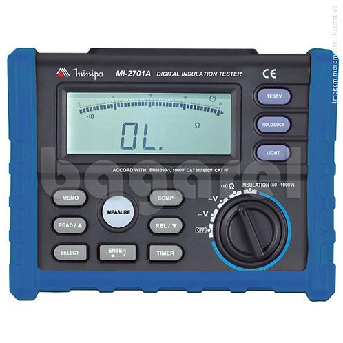 Megômetro Digital MI-2701A