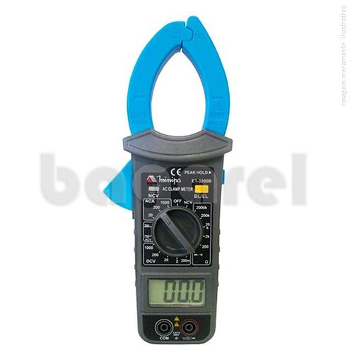 Alicate amperímetro Digital ET-3200B