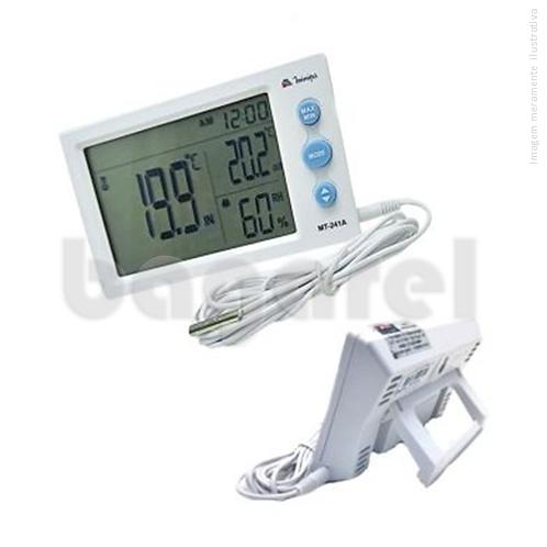 Termo-Higrômetro Digital MT-242A