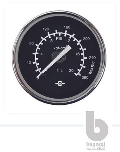 INDICADOR DE PRESSÃO DE AR 60MM  W04137 0-20KGF/CM2 WILLTEC