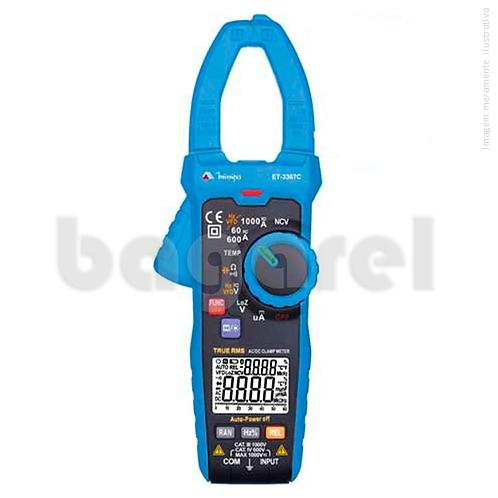 Alicate amperímetro Digital ET-3367C