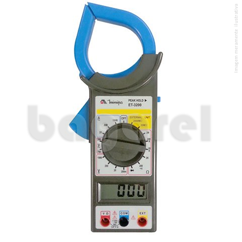 Alicate amperímetro Digital ET-3200