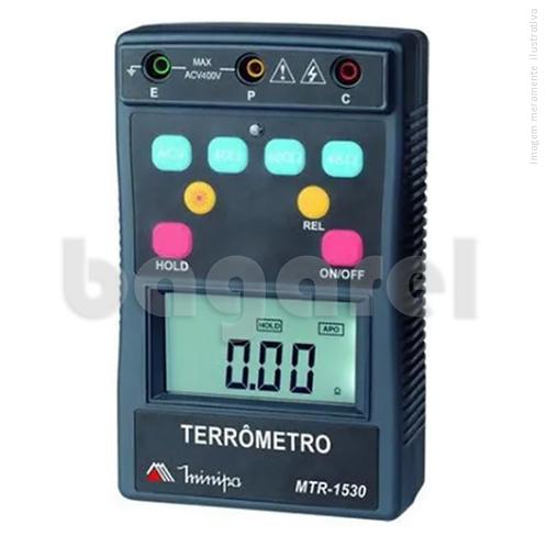 Terrômetro Digital MTR-1530