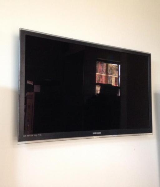 Wall-Mounted LCD TV