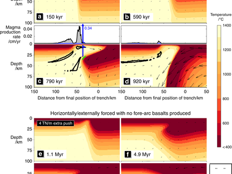 Rapid subduction initiation and magmatism driven by internal vertical forces?