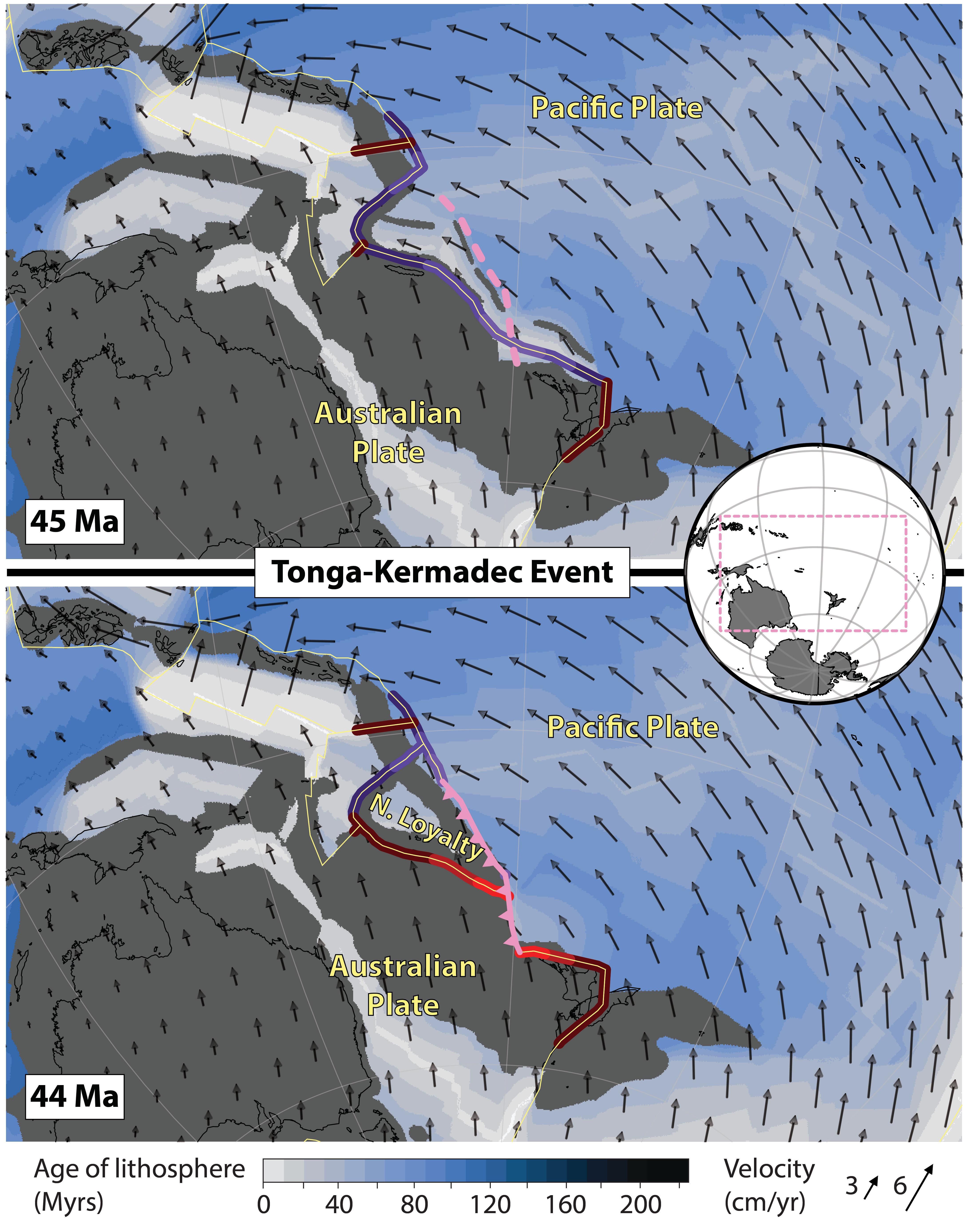 Picture of: Tonga Kermadec