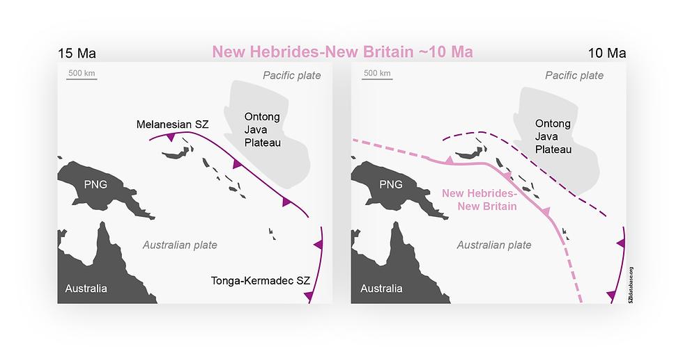 New Hebrides-New Britain
