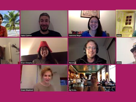 Online SZI team meeting