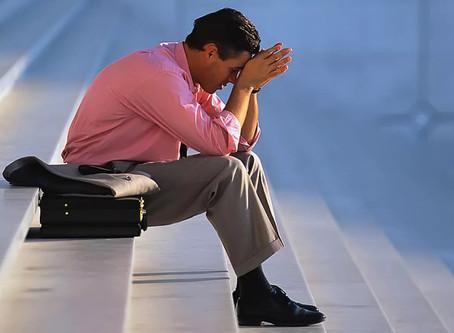 Безработный депрессия