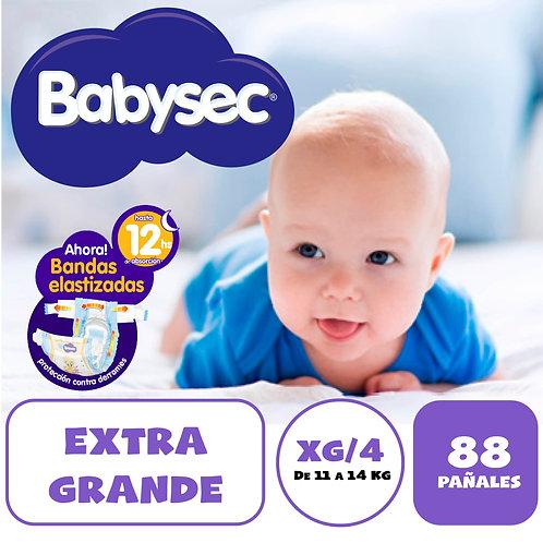 BABYSEC PREMIUN EXTRAGRANDE X 88