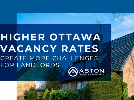 Higher Ottawa vacancy rates create more challenges for landlords