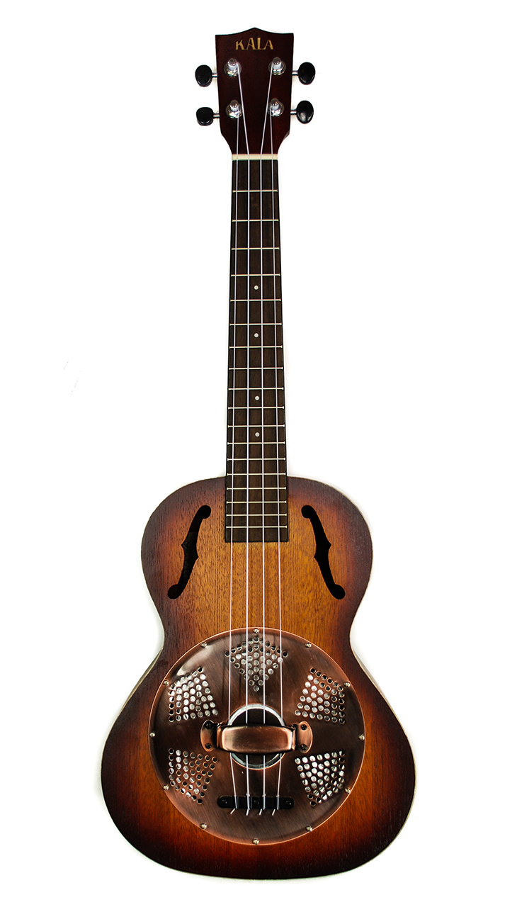 Kala KA-RES-BRS Tenor Resonator Ukulele 4.2