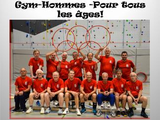 Gym-Hommes pour tous les âges !