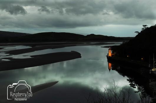 Portmeirion the esturary River Dwyryd